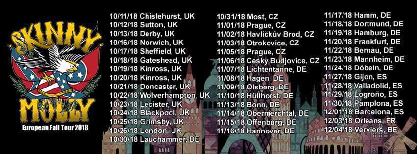 Skinny Molly Tour - UK dates