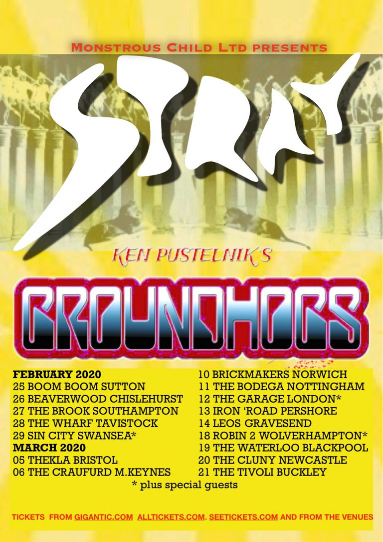Stray/Groundhogs Tour 2020