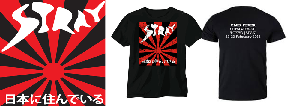STRAY – Live In Japan CD & T-shirt